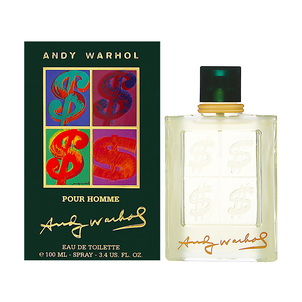 Andy Warhol pour Homme - Men - 3.4 Oz. EDT