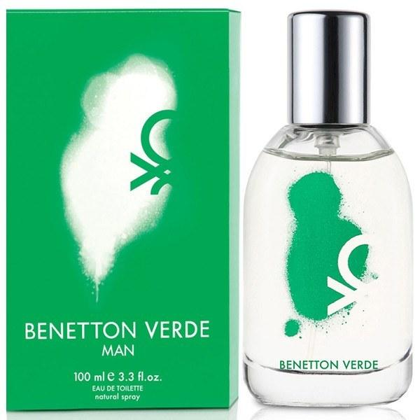Benetton Verde - Men - 3.4Oz. EDT
