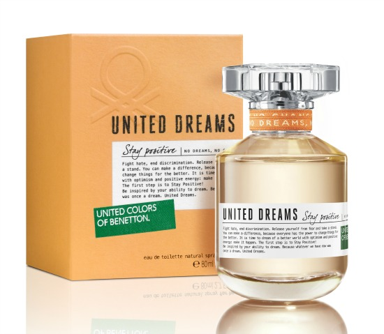 Benetton United Dreams Stay Positive - Women - 1.7Oz. EDT