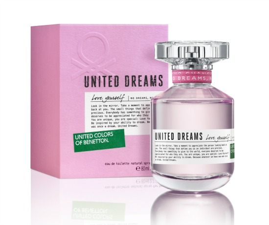 Benetton United Dreams Love Yourself - Women - 1.7Oz. EDT