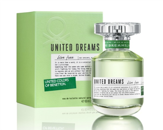 Benetton United Dreams Live Free - Women - 1.7Oz EDT